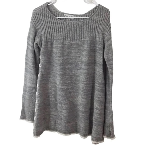 KNOX ROSE SIDE LACE-UP SWEATER